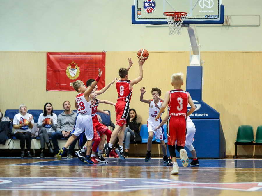 Классика баскетола в исполнении 10-летних мальчишек.